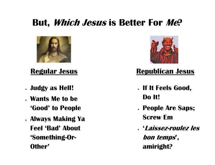 How To Pick A Jesus Lessons